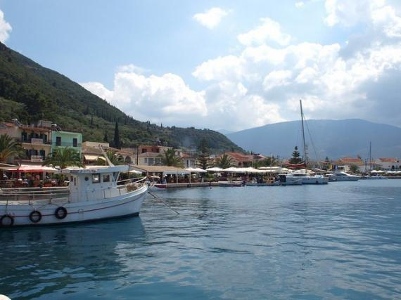 'View of Sami (Kefalonia)' - Cefalonia