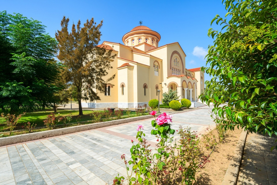 'Monastery of Agios Gerasimos on Kefalonia island, Greece' - Cefalonia